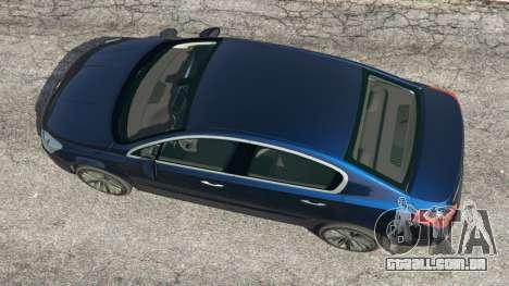 GTA 5 Peugeot 508 voltar vista