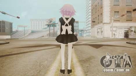 Neptune Maid [Hyperdimension Neptunia] para GTA San Andreas terceira tela