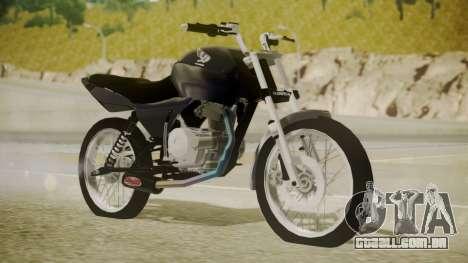 Honda Titan CG150 Stunt para GTA San Andreas