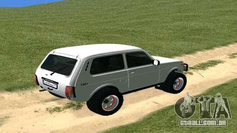 Lada Urban OFF ROAD para GTA San Andreas vista direita