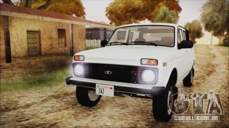 VAZ 2329 Niva 4x4 para GTA San Andreas