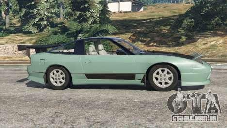 GTA 5 Nissan 240SX vista lateral esquerda