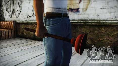 Plunger HD para GTA San Andreas segunda tela