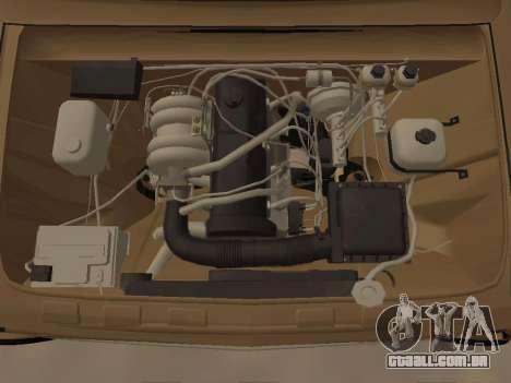 Vaz 2101 V1 para GTA San Andreas vista traseira