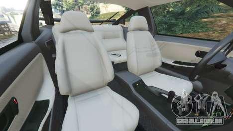 GTA 5 Nissan 240SX vista lateral direita