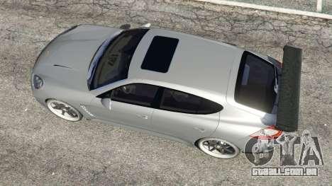 GTA 5 Porsche Panamera Turbo 2010 voltar vista