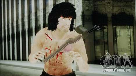 Rambo Skin para GTA San Andreas