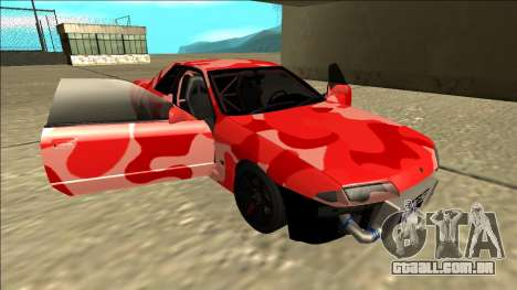 Nissan Skyline R32 Drift para GTA San Andreas interior