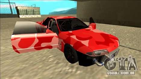 Nissan Skyline R32 Drift para GTA San Andreas interior