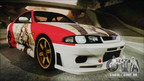 Nissan Skyline R33 Kantai Collection Kongou para GTA San Andreas