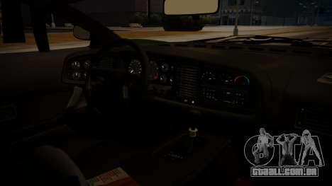 Jaguar XJ220 1992 FIV АПП para GTA San Andreas traseira esquerda vista