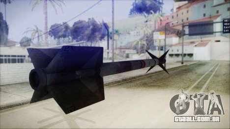 AIM9 Missile para GTA San Andreas terceira tela