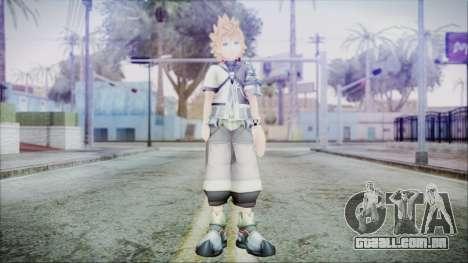 Kingdom Hearts Birth By Sleep - Ventus para GTA San Andreas segunda tela