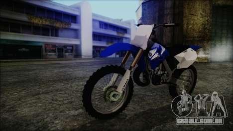 Yamaha YZ250 para GTA San Andreas