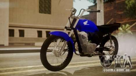 Honda CB1 para GTA San Andreas