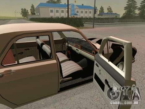 GÁS 24 BQ para GTA San Andreas traseira esquerda vista
