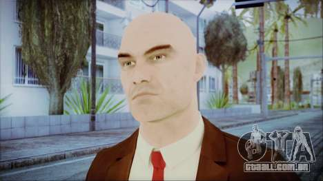 Hitman Absolution Agent 47 para GTA San Andreas