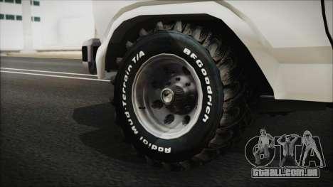 Ford F-150 Con Sonido para GTA San Andreas traseira esquerda vista