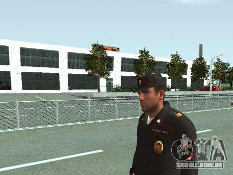 O Sargento do PPS, na forma da nova amostra para GTA San Andreas terceira tela