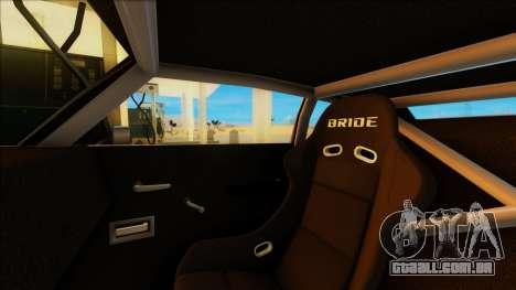 Sabre Race Edition para GTA San Andreas vista direita