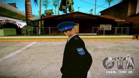 O funcionário do Ministério da Justiça v1 para GTA San Andreas segunda tela