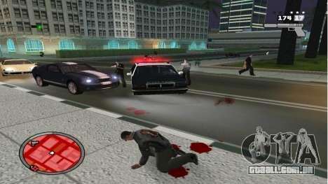 Realista Morte para GTA San Andreas segunda tela