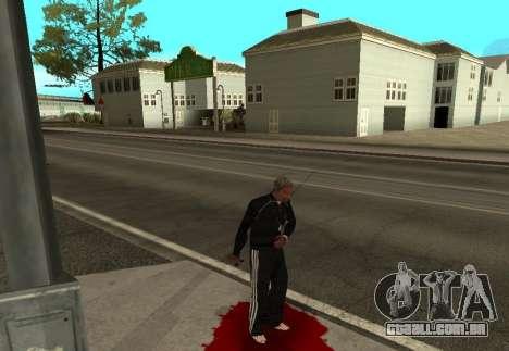 Realista Morte para GTA San Andreas