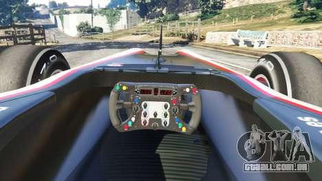 GTA 5 Hispania F110 (HRT F110) v1.1 traseira direita vista lateral
