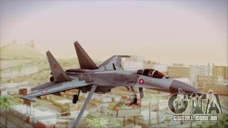 Sukhoi SU-27 Royal Danish Air Force para GTA San Andreas
