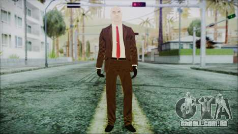 Hitman Absolution Agent 47 para GTA San Andreas segunda tela