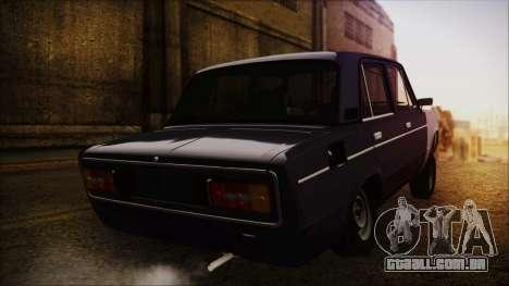 Bully VAZ 2106 Azeri Estilo para GTA San Andreas esquerda vista