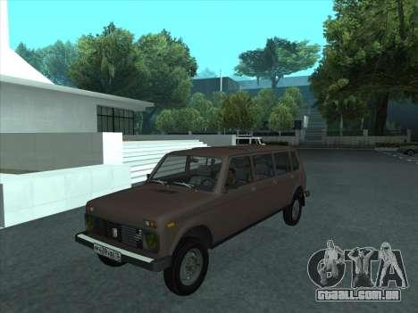 VAZ 2131 Samudera para GTA San Andreas