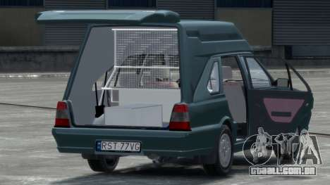 Daewoo-FSO Polonez Cargo Van Plus 1999 para GTA 4 vista direita