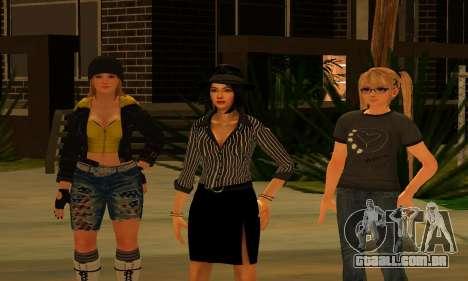 Womens Mega Pack by 7 Pack para GTA San Andreas segunda tela