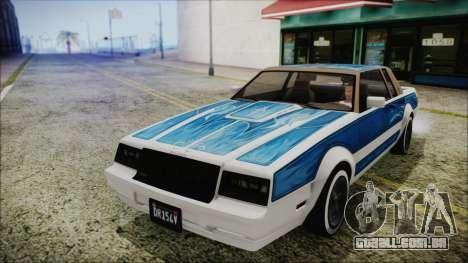 GTA 5 Willard Faction Custom without Extra IVF para GTA San Andreas vista direita