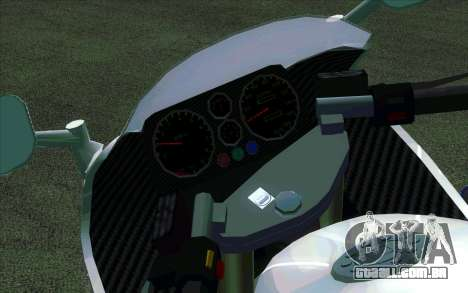 BMW R1200S de Motobot (DPS) para GTA San Andreas esquerda vista