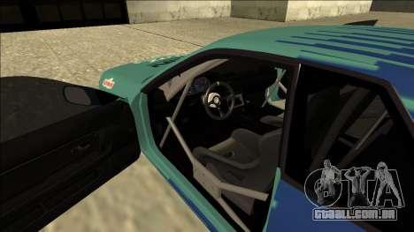 Nissan Skyline R32 Drift Falken para GTA San Andreas vista interior