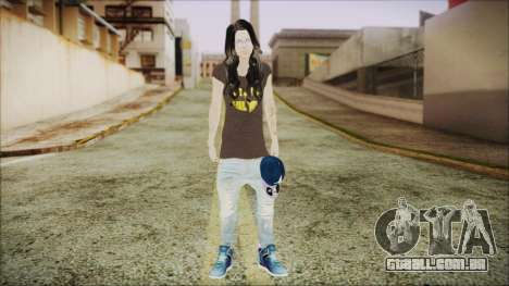 Home Girl SWAG para GTA San Andreas segunda tela