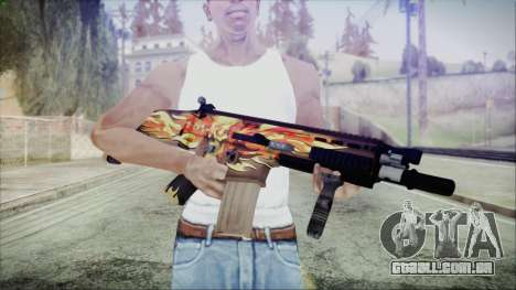 SCAR-L para GTA San Andreas terceira tela