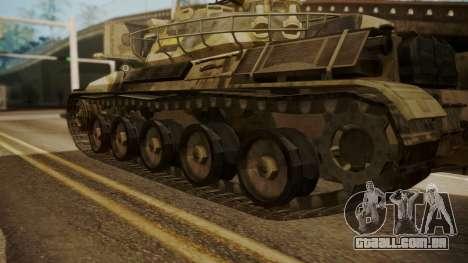 AMX 30 from Mercenaries 2 World in Flames para GTA San Andreas traseira esquerda vista