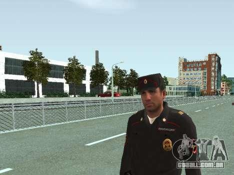 O Sargento do PPS, na forma da nova amostra para GTA San Andreas