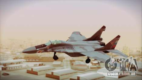 Mikoyan-Gurevich MIG-29A Russian Air Force para GTA San Andreas