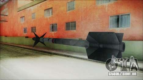 AIM9 Missile para GTA San Andreas segunda tela