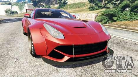 Ferrari F12 Berlinetta [LibertyWalk] v1.2 para GTA 5
