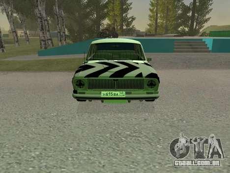 GÁS 24 BQ para GTA San Andreas esquerda vista