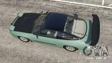 GTA 5 Nissan 240SX voltar vista