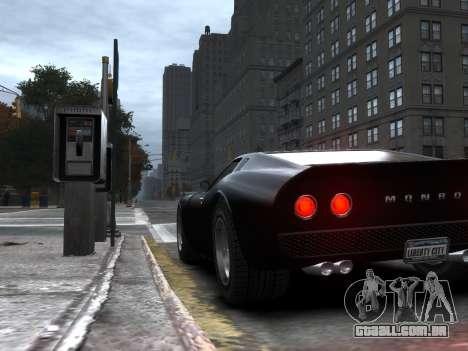 GTA 5 Monore Imporeved para GTA 4 esquerda vista