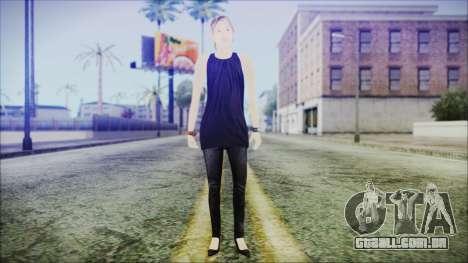 Home Girl Lupita para GTA San Andreas segunda tela
