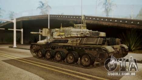 AMX 30 from Mercenaries 2 World in Flames para GTA San Andreas esquerda vista