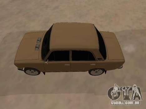 Vaz 2101 V1 para GTA San Andreas vista direita